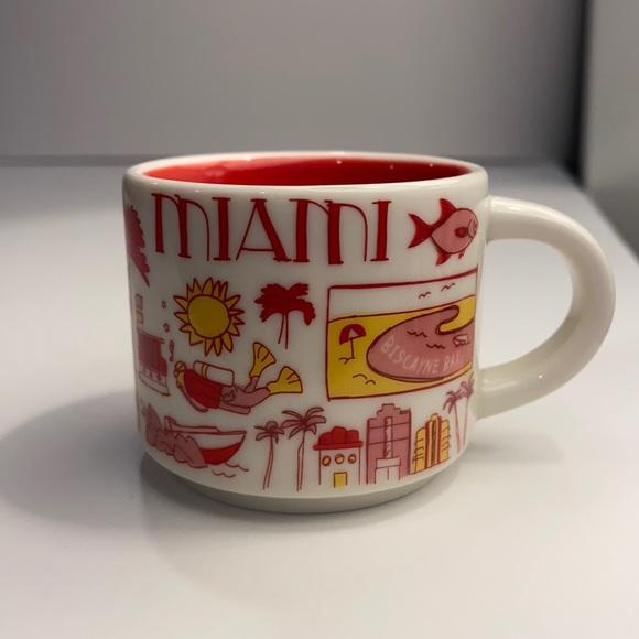 Starbucks Miami Been There Series ornament mug 2oz